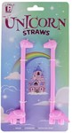Paladone - Re-Usable Unicorn Straws (Pack of 2)