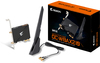 Gigabyte Dual-Band Intel WiFi 6E 2x2 MIMO Wireless PCIe Adapter with Bluetooth 5.2