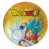 Dragon Ball Z - Plates - 18cm (Pack of 8)
