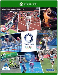 Olympic Games Tokyo 2020: The Official Video Game (Xbox One / Xbox Series X) - Cover