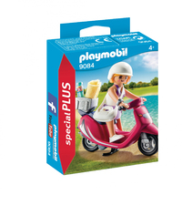 Playmobil - Special Plus - Beachgoer with Scooter (9084)