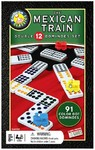 The Mexican Train - Double 12 Dominoes Set (Board Game)