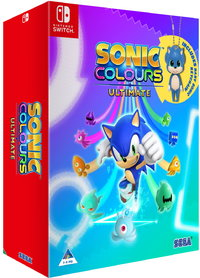 Sonic Colours: Ultimate - Day One Edition (Nintendo Switch) - Cover