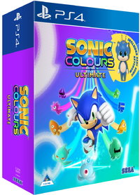 Sonic Colours: Ultimate - Day One Edition (PS4) - Cover