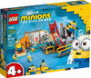 LEGO - Minions: The Rise of Gru -  Minions in Gru's Lab (87 Pieces)