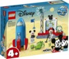 LEGO - Disney 4+ - Mickey Mouse & Minnie Mouse's Space Rocket (88 Pieces)