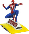 Diamond Select - Marvel Gallery PS4 Spider-Man On Taxi Statue