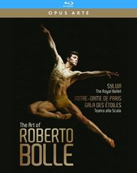 Various Artists - Arte of Roberto Bolle (Region A Blu-ray) - Cover