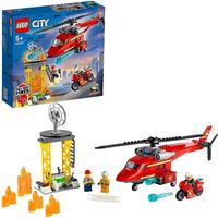 LEGO® City Fire - Fire Rescue Helicopter (212 Pieces)