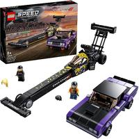 LEGO® Speed Champions - Mopar Dodge//SRT Top Fuel Dragster and 1970 Dodge Challenger T/A (627 Pieces)