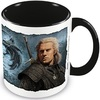 The Witcher (Bound By Fate) Black Inner C Mug