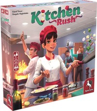 Kitchen Rush [Revised Edition] (Board Game)