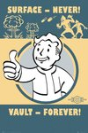 Fallout 4 - Vault Forever Maxi Poster (61x91,50cm)