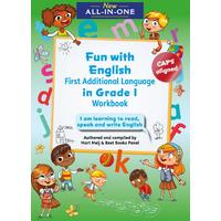 New All-In-One Grade 1 Fun with English First Additional Language Workbook - Mart Meij (Paperback)