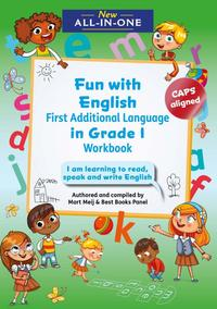 New All-In-One Grade 1 Fun with English First Additional Language Workbook - Mart Meij (Paperback) - Cover