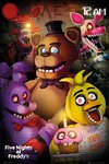 Five Night At Freddy's - Group Maxi Poster (61x91,50cm)