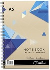 Treeline - A5 Spiral Notebook Side Bound Wiro - 100 Page (pack of 10)