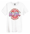 AC/DC - Vintage 79 Amplified Vintage White Small T-Shirt