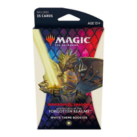 Magic: The Gathering - Adventures in the Forgotten Realms Theme Booster - White (Trading Card Game) - Cover