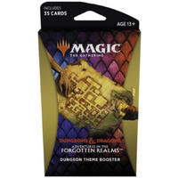 Magic: The Gathering - Adventures in the Forgotten Realms Theme Booster - Dungeon (Trading Card Game)