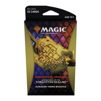 Magic: The Gathering - Adventures in the Forgotten Realms Theme Booster - Dungeon (Trading Card Game) - Cover