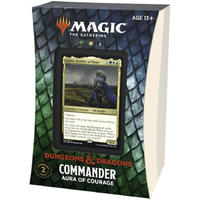 Magic: The Gathering - Adventures in the Forgotten Realms Commander Deck - Aura of Courage (Trading Card Game)