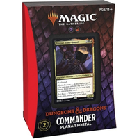 Magic: The Gathering - Adventures in the Forgotten Realms Commander Deck - Planar Portal (Trading Card Game) - Cover