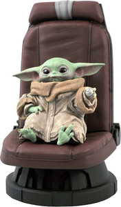 Diamond Select - 1/2 Star Wars the Mandalorian Child In Chair - Cover