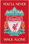 Liverpool F.C. - You'll Never Walk Alone Coral Blanket (100x150cm)
