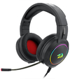 Redragon H270 Mento Over-Ear RGB Wired Gaming Headset - Black