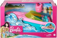 Barbie - Boat With Puppy