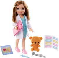 Barbie - Chelsea Can Be Doctor Doll and Playset