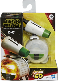 Star Wars - Spark and Go Droid D-O Figure - Cover