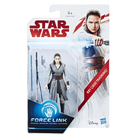 Star Wars - 3.75 inch (Force Link) - Rey Jedi Training Figure - Cover