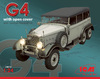 ICM - 1/24 - Typ G4 Soft Top WWII German Personnel Car (Plastic Model Kit)