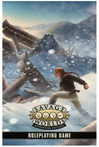 Savage Worlds: Adventure Edition (Role Playing Games) - Cover