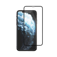 Mocoll 2.5D Tempered Glass Full Cover Protector for iPhone X/XS/11 Pro - Black - Cover