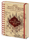 Harry Potter - The Marauders Map A5 Wiro Notebook