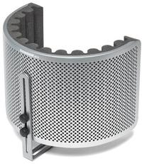 Samson RC10 Studio Microphone Reflection Filter (Silver) - Cover