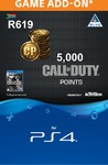 Call of Duty: Modern Warfare - 5,000 Points (CP) (PS4)