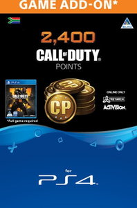 Call of Duty: Black Ops 4 - 2,400 Points (CP) (PS4) - Cover