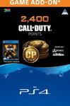 Call of Duty: Black Ops 4 - 2,400 Points (CP) (PS4)