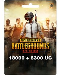 PUBG Mobile Unknown Currency (18000+6300) 24300 (UC) Unknown Cash (Mobile) - Cover