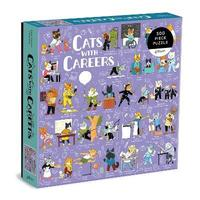 Galison - Cats with Careers Puzzle (500 Pieces) - Cover