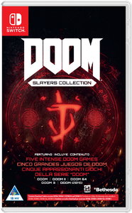 DOOM Slayers Collection (Code in a Box) (Nintendo Switch) - Cover
