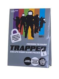 Trapped: Escape Room Game Packs - Mission To Mars (Puzzle Game)