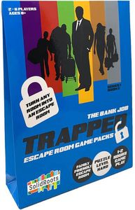 Trapped: Escape Room Game Packs - The Bank Job (Puzzle Game)
