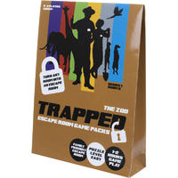Trapped: Escape Room Game Packs - The Zoo (Puzzle Game)