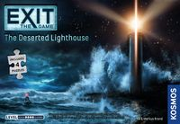 EXIT: The Game - The Deserted Lighthouse (Board Game + Puzzle)