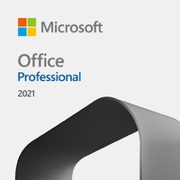 Microsoft - Office Professional 2021 -  1 User (Windows 10/11/Mac OS Required)